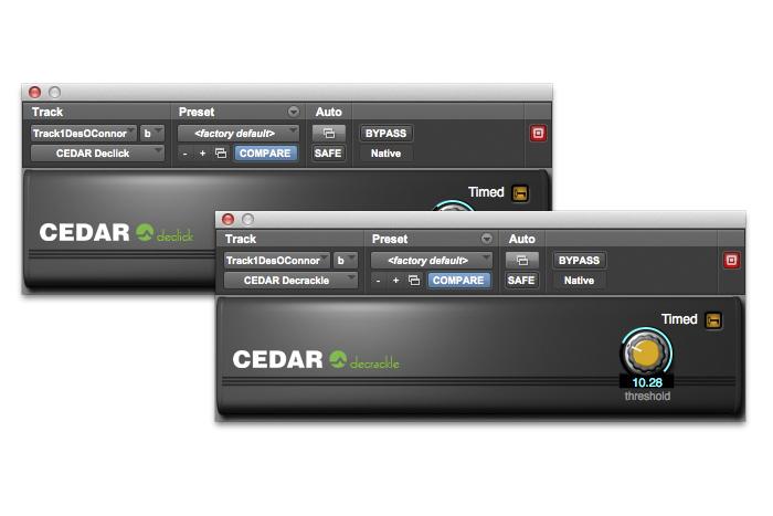 Cedar Studio 7 Declick/Decrackle Software