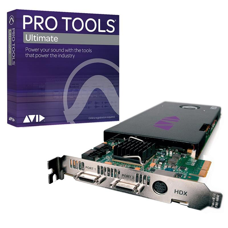 Avid Pro Tools HDX Core with Pro Tools Ultimate Perpetual License